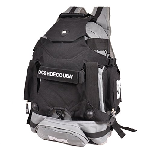 Outdoor roller skate Mountain climbing backpacks (Gray, One size)