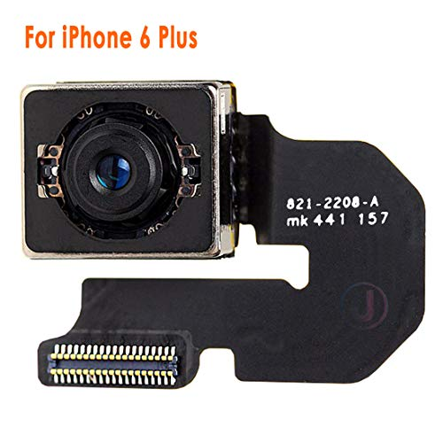 Johncase New OEM 8MP Autofocus Main Back Rear Camera Module Flex Cable Replacement Part Compatible for iPhone 6 Plus All Carriers