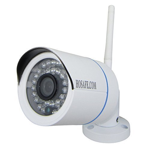 BESTOFFER4U-9320 Pro HD 1080P (2.0 Megapixel) outdoor IP Camera Wireless Waterproof home security camera with night vision for iPhone, iPad, Android Smart Phone, PC and Mac/iMac(White)