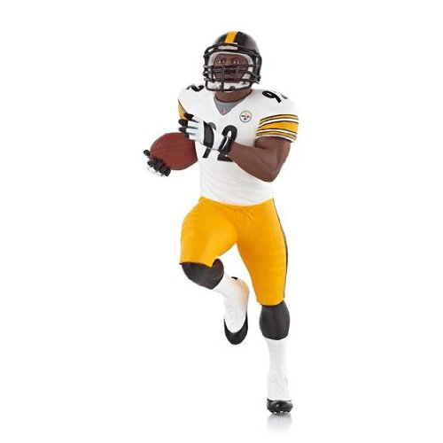 James Harrison Steelers - Pittsburgh Steelers 2013 Hallmark Ornament