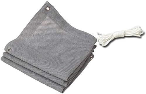 遮光布シェードネット、パティオ温室花植物カバー用のグロメットと巾着シェードタープ付き(サイズ:4x4m)