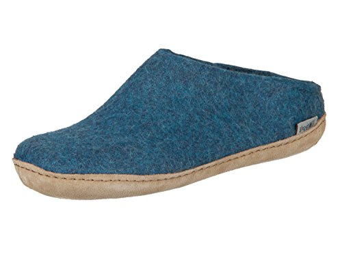 - Glerups Unisex Model B Petrol Blue Slipper - 41 ,41 M EU