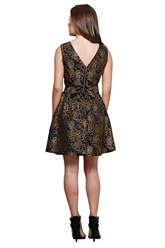 Schwarz Schwarz Damen Damen Mela Mela Kleid Kleid Mela Damen Kleid Schwarz Mela Kleid Damen qFOWWR