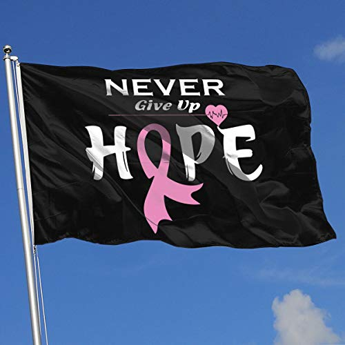 Breast Cancer Awareness-1 Banner Flag Family Flag Outdoor Garden Flag 3'X5' House Banner]()