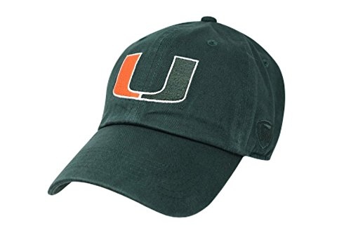 Miami Hurricanes Hat Green - Green Orange