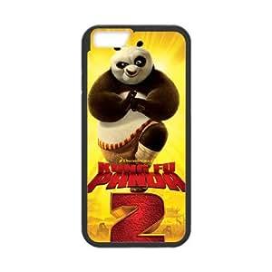 Kung Fu Panda 001 iPhone 6 4.7 Inch Cell Phone Case Black TPU Phone Case RV_599320