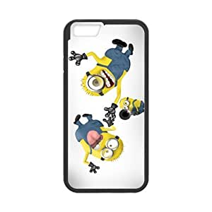 ROBIN YAM Despicable Me Minions Hard TPU Rubber Coated Phone Case Cover for iPhone 6 4.7