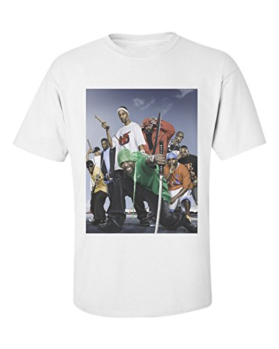 Rza Reality Tang Clan Wu Fact T shirt girocollo Samouraï Odb Method raaq1YWF