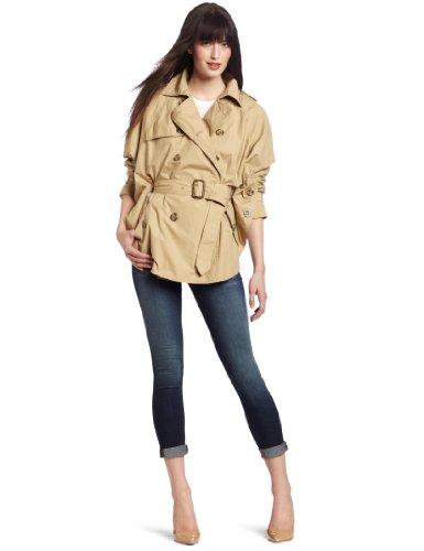 D.E.P.T. Women's Crispy Poplin Coat
