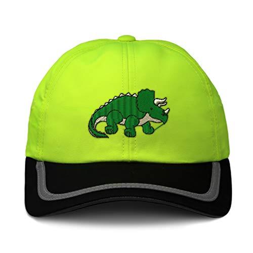 Speedy Pros Reflective Running Hat Triceratops Dinosaur A