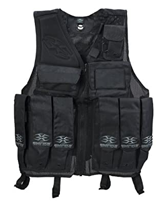 BT Paintball Tactical Battle Vest - Black
