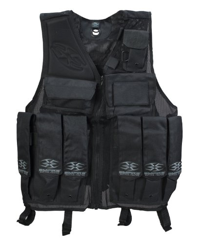 (BT Paintball Tactical Battle Vest - Black)