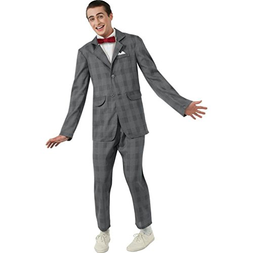 Men's Pee Wee Herman Suit Costume