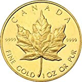 Canada (1 oz) Gold Maple Leaf - Random Year