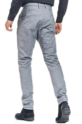 Salsa - Pantalon Baggy en tissu fantaisie et slim - Homme