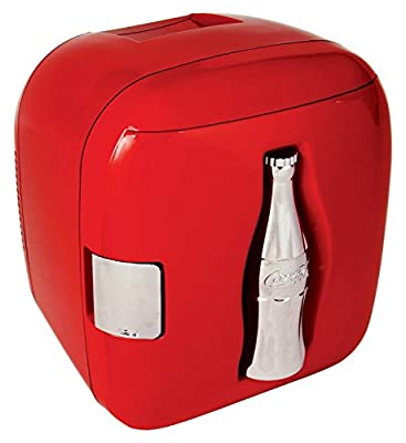 Coca-Cola CCU09 Cube Bottle Cooler, Red