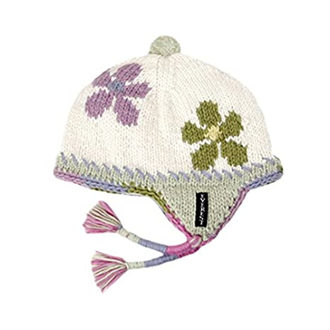 184dfb8cf50 Amazon.com  Everest Designs Girls Flower Child Earflap