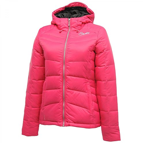 Dare 2b Play Down Jacket Womens Duck Down Filled Warm Winter Jacket RRP £150.00[UK 6,Electric (Dare Down Jacket)
