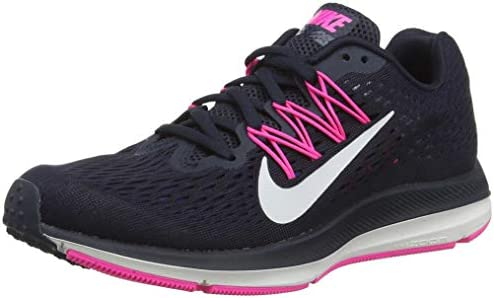 Nike Pegasus 35 And Winflo 5 Nike Women's Zoom Winflo 5 Running Shoes, Blue (Obsidian/Summit ...