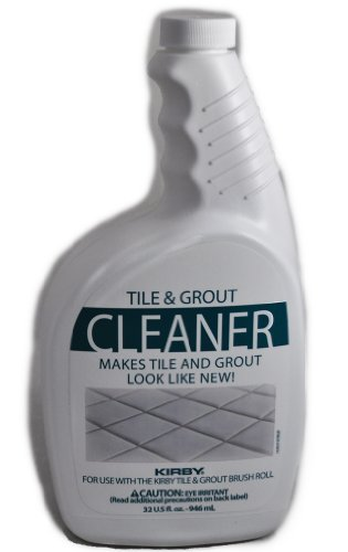 Kirby 245213S Tile and Grout Cleaner 32 oz, Clear/White by Kirby