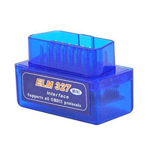 Vococal® Mini de ELM327 intelligent sans fil Bluetooth V2.1 OBD2 Auto voiture Scanner de Diagnostic outil Bleu best