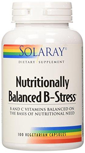 Solaray B-Stress Supplement, 100 Count