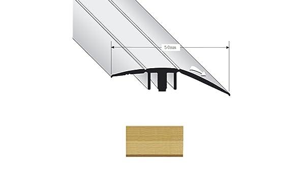 Perfil de Differente Nivel Duo Grip 8400 Alto 50 mm Fresno 0,9 m: Amazon.es: Bricolaje y herramientas