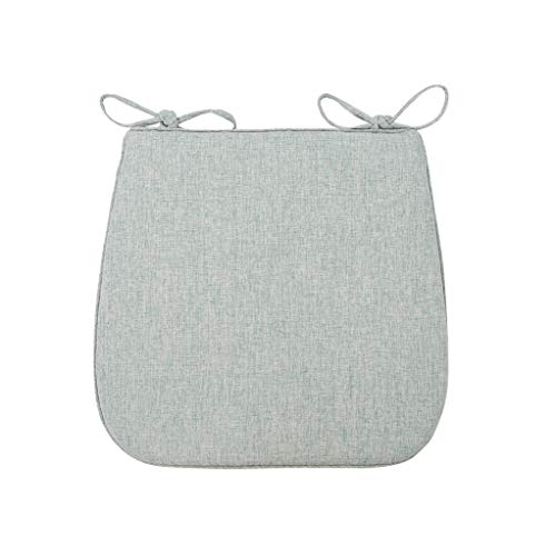 - Summer Breathable Cushion, Household Cushion, Non-Slip Horseshoe mat, trapezoidal placema (Color : Elegant Green)