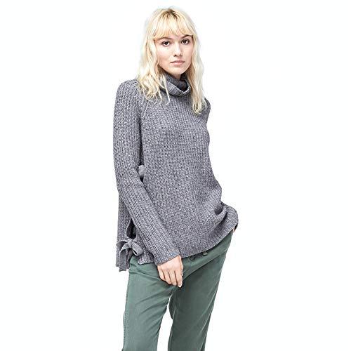 UGG Women's W CEANNE Turtleneck Sweater, Grey Heather M