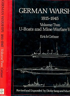 German Warships, 1815-1945: U-Boats and Mine Warfare Vessels