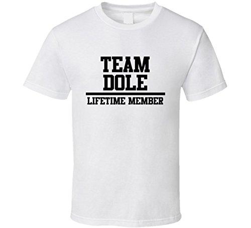 team-dole-lifetime-member-last-name-cool-t-shirt-m-white