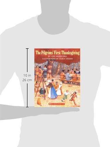 The Pilgrims' First Thanksgiving (Turtleback School & Library Binding Edition)
