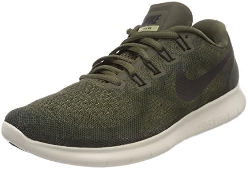 Nike Women's Free RN 2017 Road Running Shoes, Green, 6.5 US (37 12 EU)