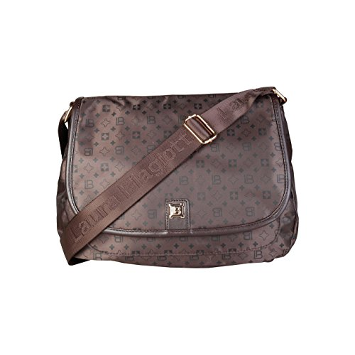 Body Biagiotti Crossbody Women Genuine Cross Designer Women Brown Laura Bag Bag x65wI7nqAH