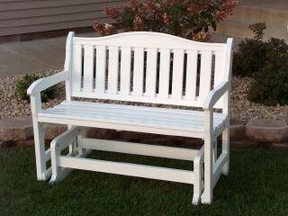 Prairie Leisure Garden Bench Glider_Sage