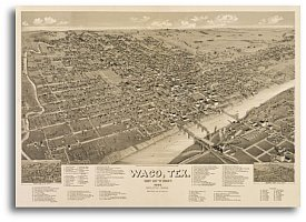 Waco 1886 by Henry Wellge - Texas Stores Waco