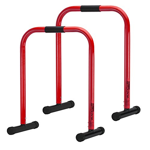 Wacces Heavy Duty Functional Fitness Station Stabilizer Dip Bar