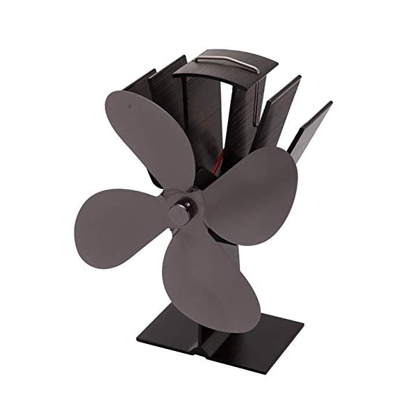 LDM Ventilatore per Stufa a Legna - 4 Pale - Ventilatore per Stufa a Legna Alimentato a Legna - Riscaldamento Ecologico… 3 spesavip