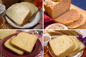 Heartland Collection, Whole Grain Bread Machine Mixes (Big Sky, Praire Sunflower, Summerhill Irish Oat, FH Honey - Wheat Honey Recipe Bread