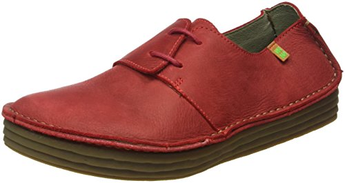 Field Pleasant Rouge tibet Rice Femme Derbys Nf80 Naturalista El wqaZ4w