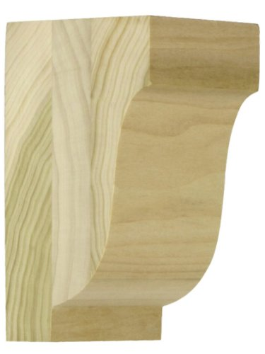 (Medium Poplar Colonial Corbel 5 1/2