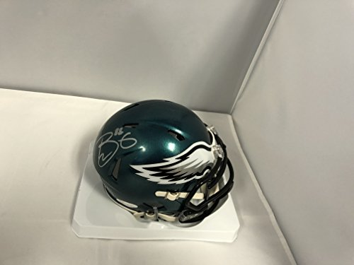 Trey Burton Signed Autographed Philadelphia Eagles Mini Speed Helmet COA & Hologram