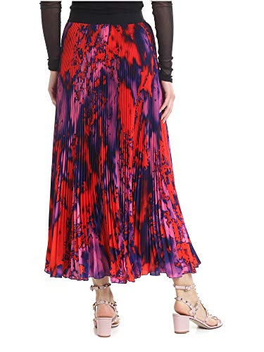 Msgm Gonna Poliestere 2642mdd123pa19535918 Rosso Donna bf6IYgv7y
