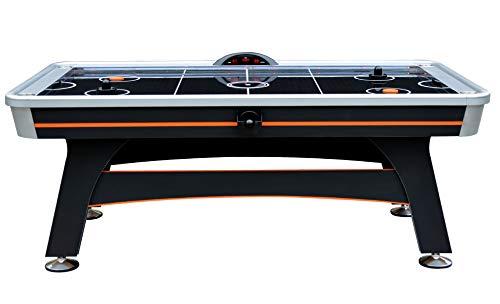 Hathaway Trailblazer 7' AIR Hockey Table, Black/Orange