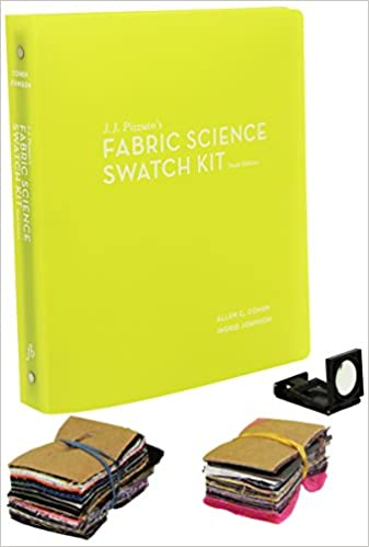 JJ Pizzutos Fabric Science Swatch Kit 10th Edition
