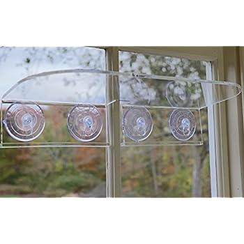 Window Garden Double Veg Ledge U2013 Suction Cup Window Shelf Securely Holds Up  To 10 Lbs