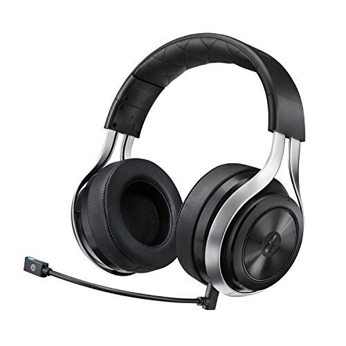 LucidSound LS30 Wireless Universal Gaming Headset (White) – PS4, Xbox One, PS3, Xbox 360, & Mobile Devices