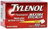 Tylenol Tabletas, 500 mg, 100 Piezas