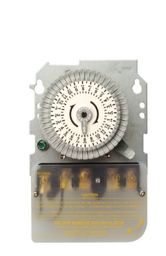Woods 59103M Indoor 120-Volt 40-Amp 24-Hour DPST Replacement Mechanical Time Switch Mechanism Only (Time Mechanical Switch Dpst)