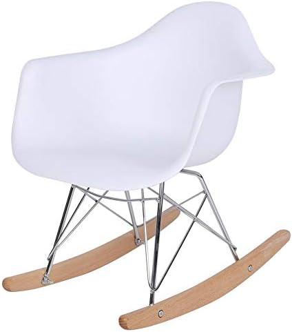 Pissente Chaise à bascule en plastique pour enfants lisse et robuste et confortable 50 x 43 x 30 cm environ.